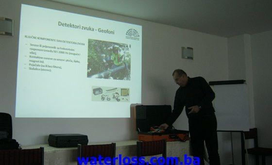 U Laktašima održano predavanje za vodovode i općine na temu gubitaka vode