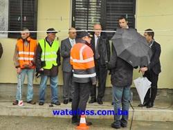 Ambasador Republike Njemačke u Crnoj Gori, Pius Fischer i gradonačelnik Ulcinja Nazif Cunda posjetili  DAHLEM tim