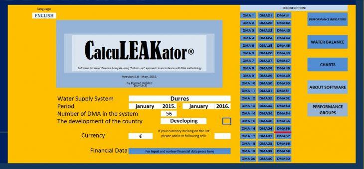 Una Consulting iz Bihaća i Zavod za vodoprivredu iz Sarajeva potpisali ugovore za korištenje software CalcuLEAKator