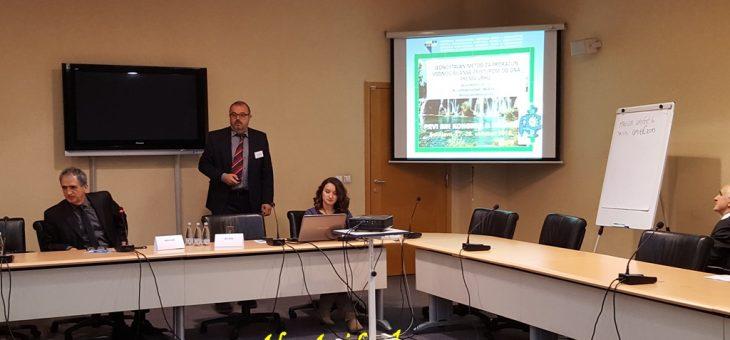 Pojednostavljeni pristup za proračun vodnog bilansa pristupom od dna prema vrhu predstavljen na 1. Kongresu o vodama u Sarajevu